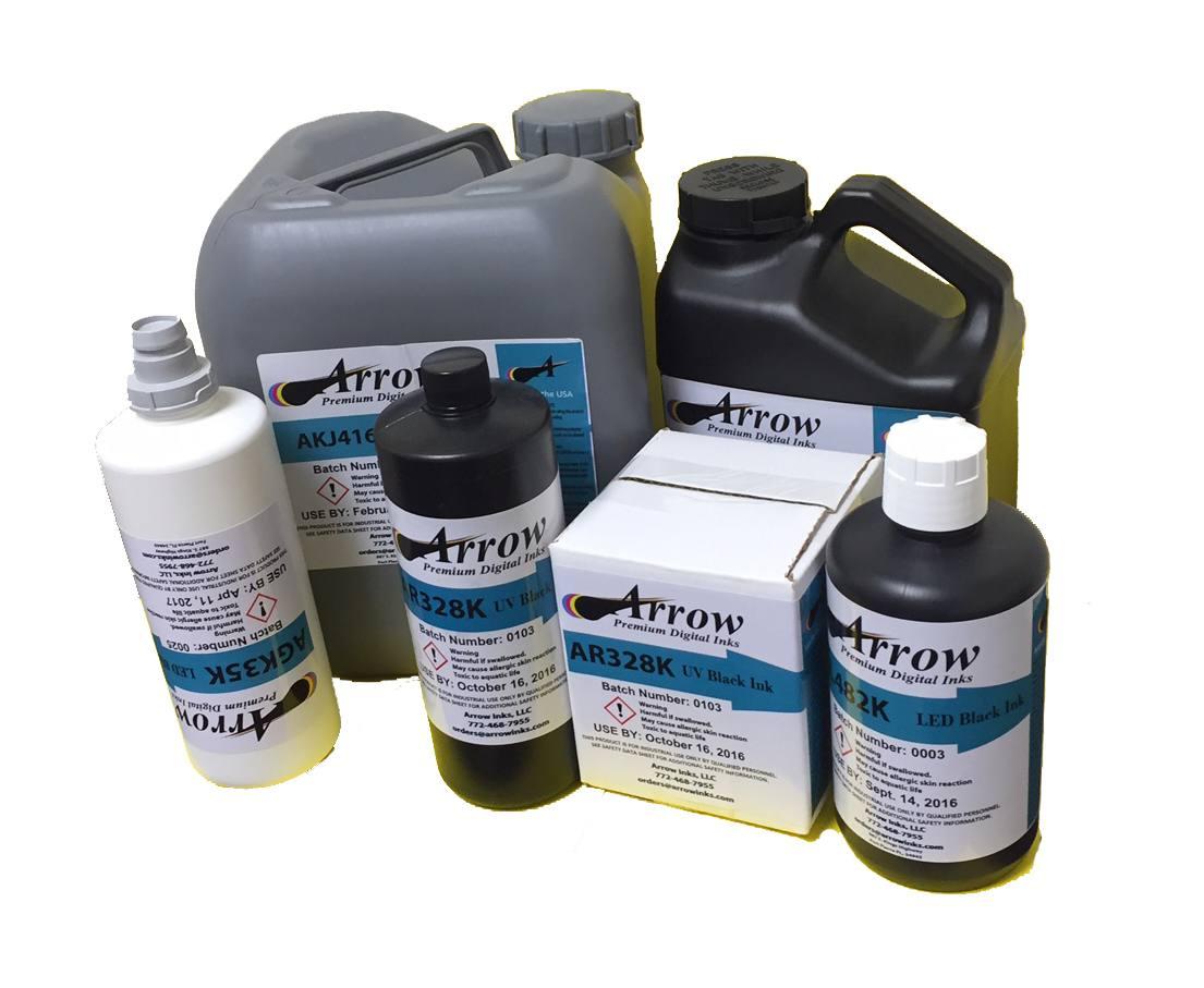Arrow Inks for Drop on Demand Printers