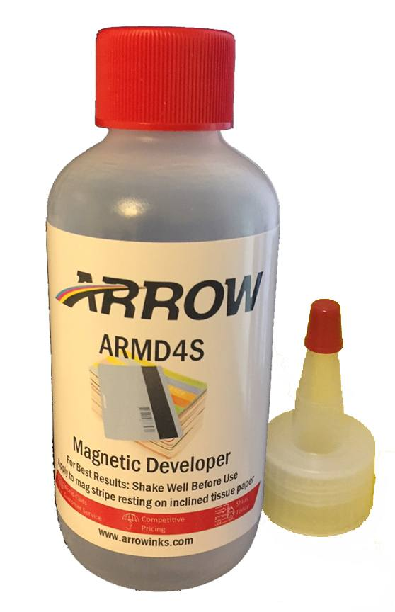Arrow Magnetic Developer 4oz Squeeze Bottle